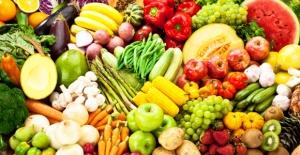 Vegans eat lots of fruit and vegetables
